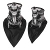 Skull Bandana Mask - Winged Skull