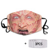 Freddy Krueger Face Mask